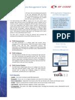RFC TAVIS 2.2 Data Sheet (2006)