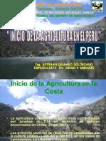 Inicio de La Agricultura en El Peru