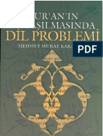 Mehmet Murat Karakaya - Kuranın Anlaşılmasında Dil Problemi.pdf