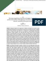 Strategi Pengelolaan Keluhan Pelanggan Rawat Jalan Puskesmas Di Kota Palangkaraya Menurut Sudut Pandang Clinical, Manajerial Dan Governance