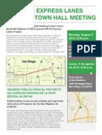 Caltrans SR94 Meeting