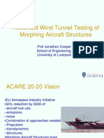1-Advanced Wind Tunnel Testing of Morphing Aircraft Structures