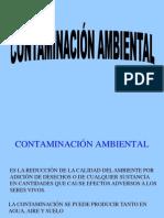 Contaminación del agua nueva pres.