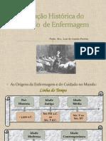 Evolução Histórica do Cuidado  de Enfermag em