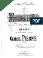 249769 Pierne Piano Concerto in c Op1 12