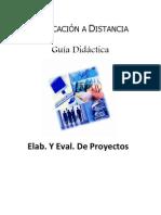 Elab. Y Eval. de Proyectos - Unidad I