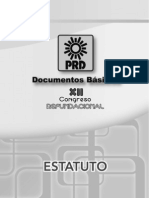 Estatutos Prd 2013