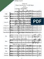 Piano Concerto No. 1 in Bb Major, Op. 23-1