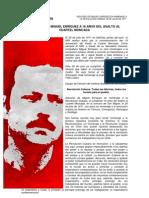 DISCURSO DE MIGUEL ENRÍQUEZ A 18 AÑOS DEL ASALTO AL CUARTEL MONCADA - 26 de julio de 1971