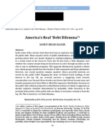 America's Real Debt Dilemma