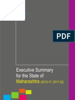 NSDC Maharashtra Executive Summary