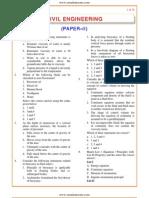 IES OBJ Civil Engineering 2003 Paper II