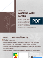 Unit VII - Working With Layers