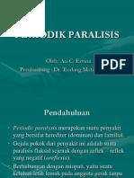 Periodik Paralisis