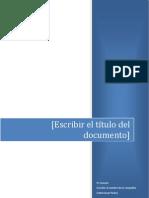 Informe de Lodo de Perforacion
