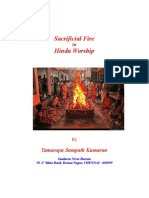 Sacrificial Fire in Hindu Worship