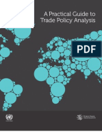 Trade Policy Analysis