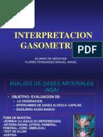 Análisis de gases arteriales AGA