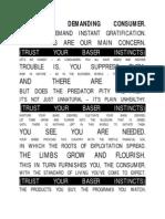 DKMU - Trust Your Baser Instincts