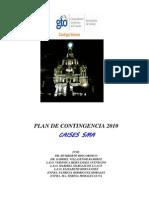 PLAN DE CONTINGENCIA°° 2010
