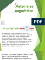 Materiales magnéticos