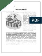Texto Paralelo III