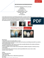 Cerium Oxide CeO2 Gemstone Jewel Polishing Powder 668-3