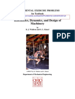 Kinematics, Dynamics, And Design of Machinery, K. J. Waldron and G. L. Kinzel SOLUTIONS