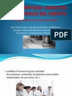 Capitulo i Aspectos Generales Del Credito (Exposicion)