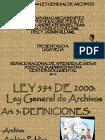 LEY 594 DE 2000-LEY GENERAL DE ARCHIVOS