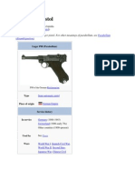 Luger P08 Pistol
