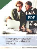 Licences Guide 5 Etapes FR