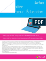 Surface for Education Brochure and Order Form FR3 Formulaire Final