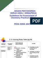 Performance Indicators- Chem
