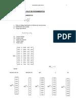 Mathcad - Cálculo de rodamientos