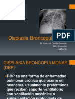 Displasia Broncopulmonar Castillo.pptx