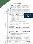 高怀恩博士的中文简历
