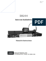 Intercom Dx 200