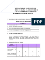 Esquema Final de PMCC - ADMISION