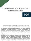 Contaminacion Por Residuos Solidos Urbanos