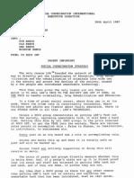 SOCO Directive 1987