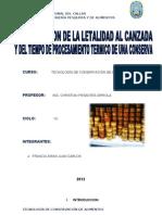 Determinacion de La Letalidad Al Canzada