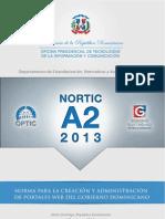 Norma para la creación de sitios web del gobierno dominicano