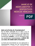 MEDICAMENTOS VENCIDOS