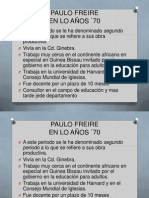 Paulo Freire 60 y70