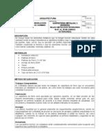 10.02.02 Rejas Metalicas Interiores RI-01 Al RI-08 XAMMAR.