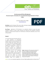 On-line versus Off-line_Practical Aspects of Sensitive On-site PD Detection in Power Cables.pdf