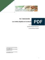 TIC Y EDUCACIÓN LOS MEDIOS DIGITALES EN LA EDUCACIÓN