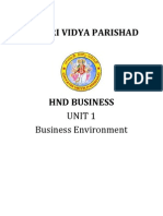 Business Environment Lession Plan