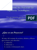 Introducc a Proyecto